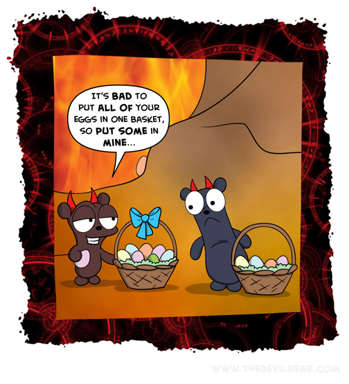 One basket to hold them all, and in the darkness bind them